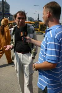 Tomasz Matkowski odwiedził nasz happening