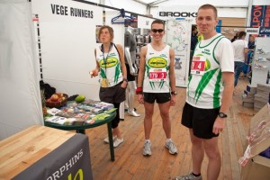 Stoisko VegeRunners na targach Expo Sport&Fitness