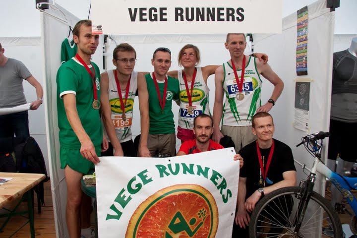 Vege Runnersi po Maratonie 2009
