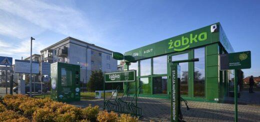 sklep żabka na warszawskiej białołęce zasilany jest zieloną energią